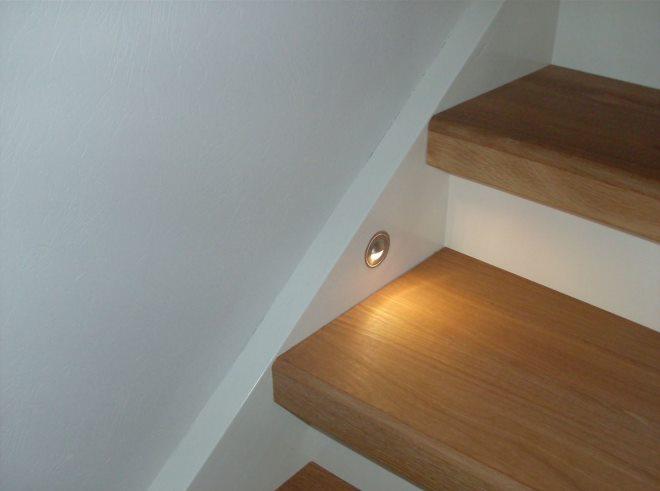 Trinnplater til trapp