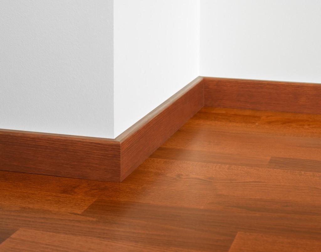 Tarkett har gulv og list i samme farge.