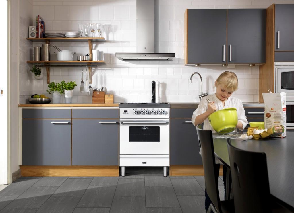Kreativt med fliser på kjøkkenet - Kreative Idéer