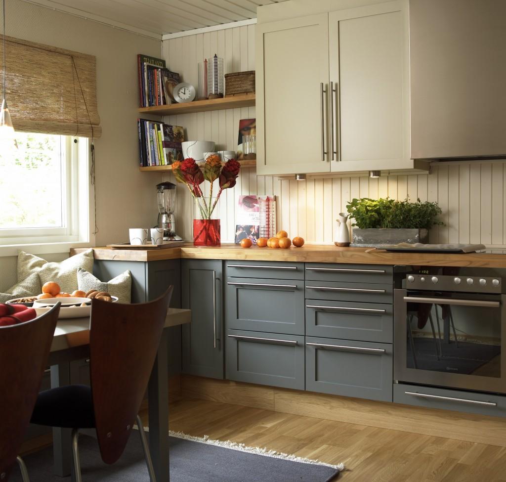 Male kjøkkeninnredning fargevalg