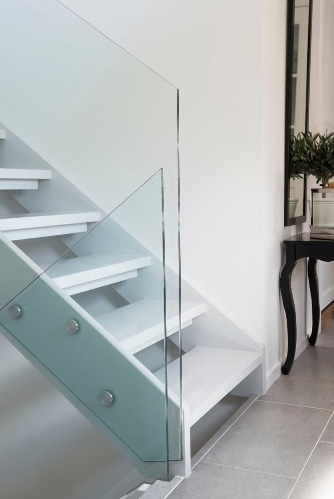 åpne opp trapp