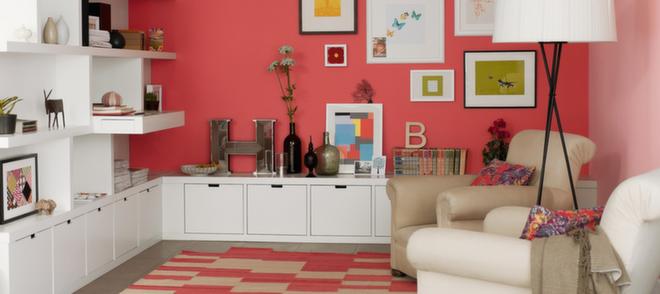 6 tips til fargesetting av stuen - Kreative Idéer