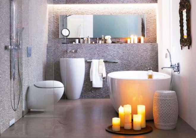 45 idéer for små baderom