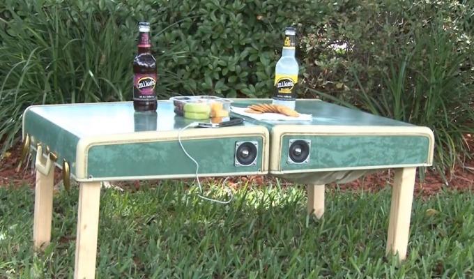 piknikbord av koffert
