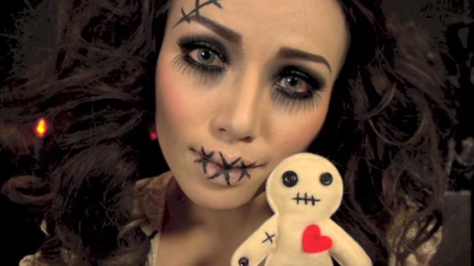 Skummel Halloween Sminke.Du Kan Bli Sa Skummel Du Vil Til Halloween Bare Se Her