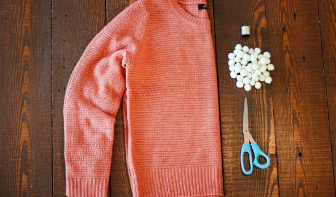 Gammel genser diy