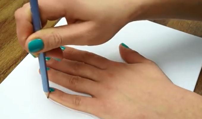 tegne-handen