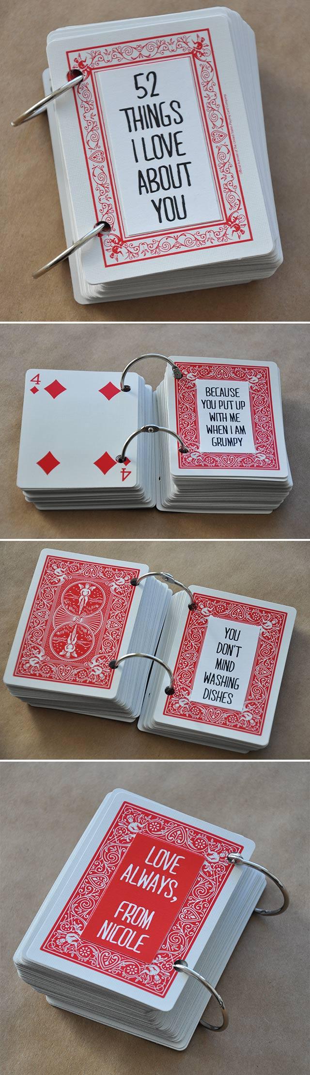 romantisk gave til kjæresten