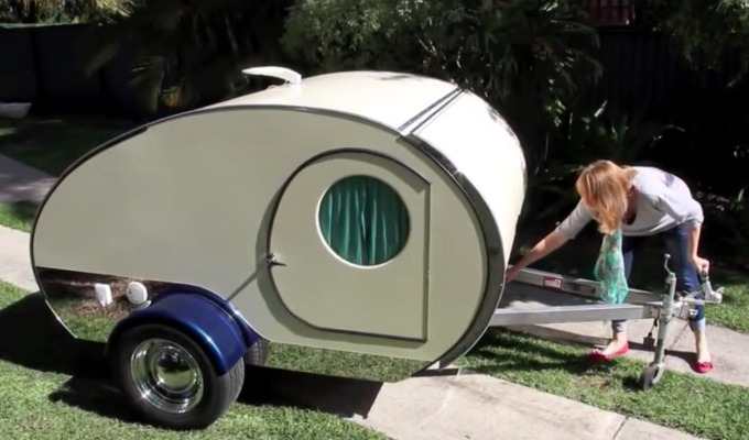 liten smart campingvogn
