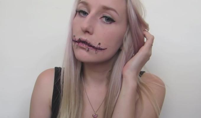 Skummel Halloween Sminke.7 Skumle Ansikter Som Vil Vekke Oppsikt Pa Halloween