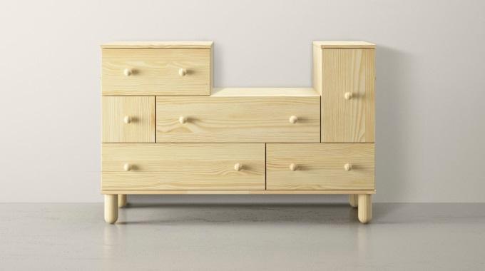 slik kan en slik kommode fra ikea forvandles p to forskjellige m ter page 4 of 4 kreative. Black Bedroom Furniture Sets. Home Design Ideas