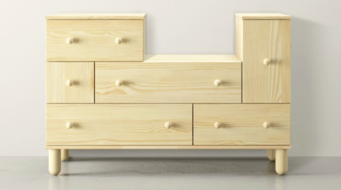 slik kan en slik kommode fra ikea forvandles p to. Black Bedroom Furniture Sets. Home Design Ideas