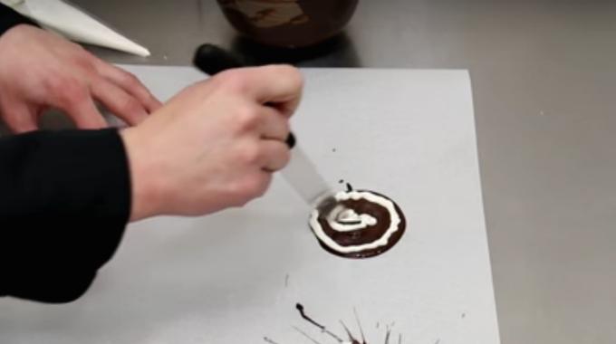 Sjokoladekake Pynt