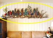 0c32fe45 Ta en nærmere titt på hva Grethe har over sofaen hjemme. FANTASTISK!