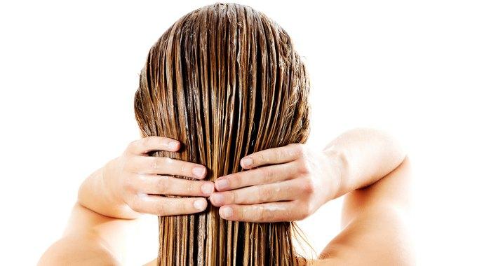 majones i håret