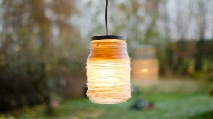 20 Glass Lampe