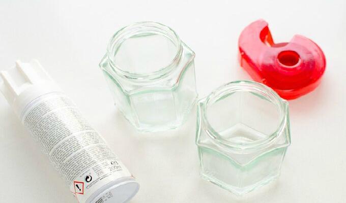 40 Glass Telys
