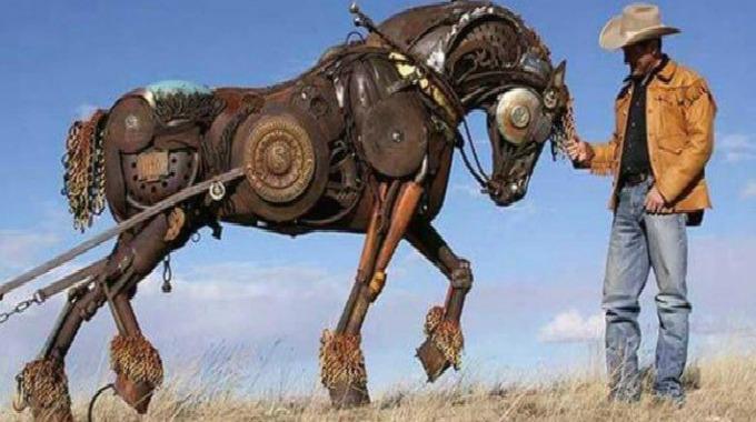 Mann Og Hest