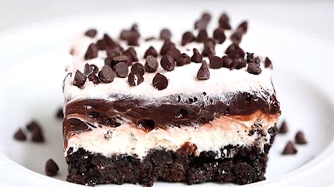 Sjokoladelasagne 3