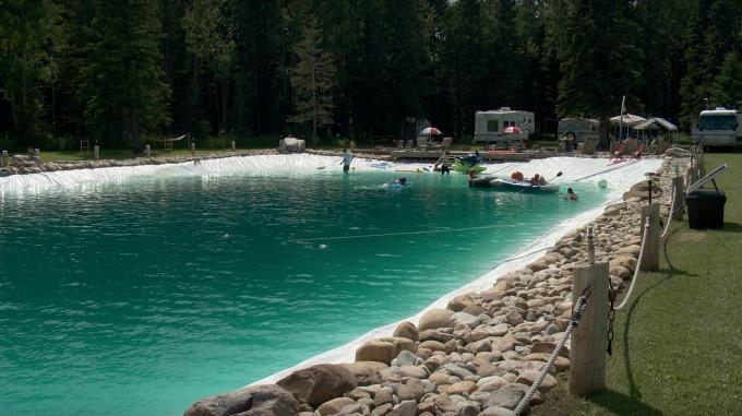 Svømmebasseng størrelse