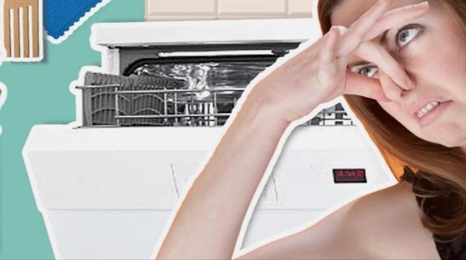 Brun eddik i vaskemaskin