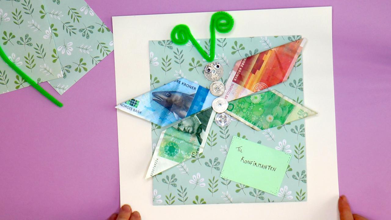 Hvordan brette enhjørning av penger Kreative Idéer
