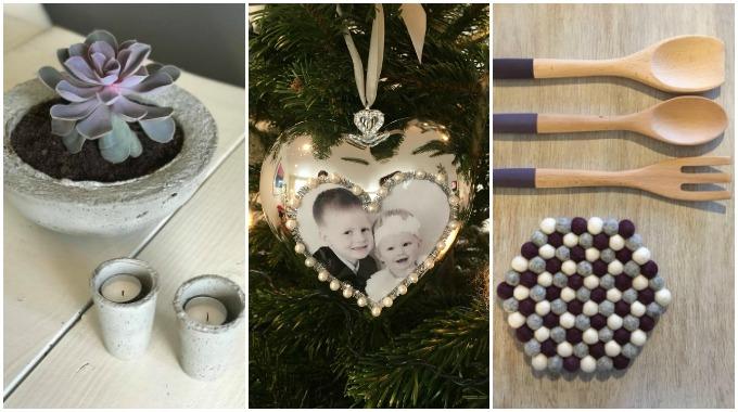 Tre hjemmelagde julegaver