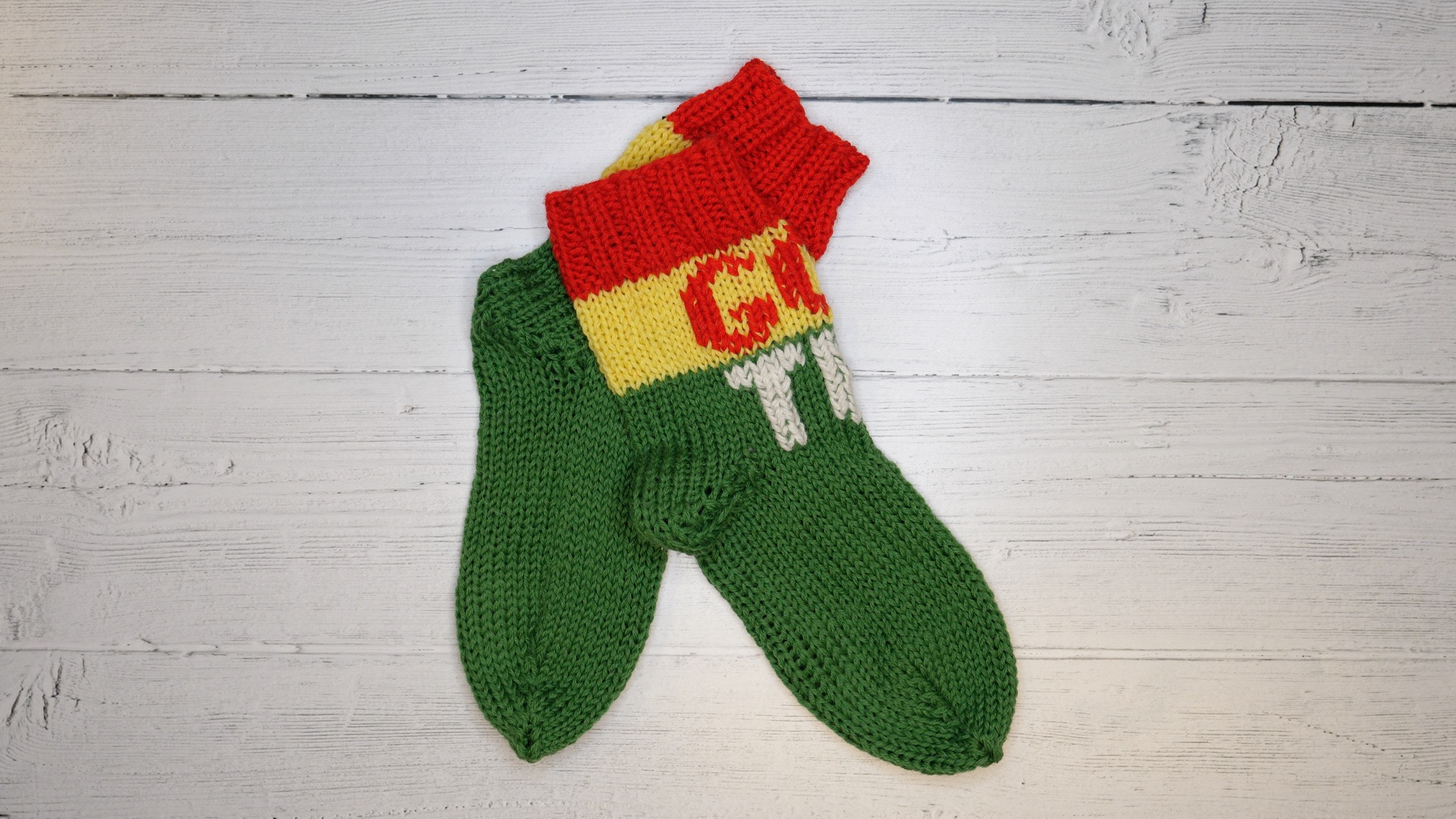 d7a18643 Lær å strikke sokker på 5 minutter - Kreative Idéer